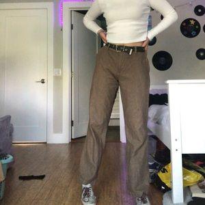 Other - Men's Brown flare skater pants